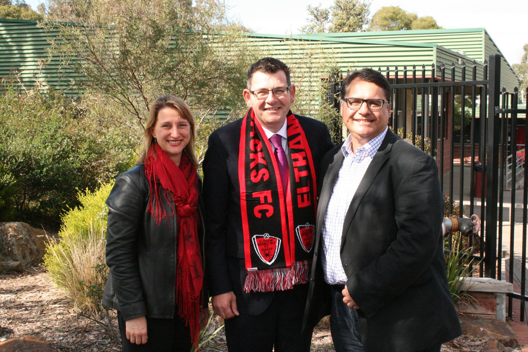 2014 Vicki Ward, Kevin Andrews and Ivan Dalla Costa - ERFC funding promise