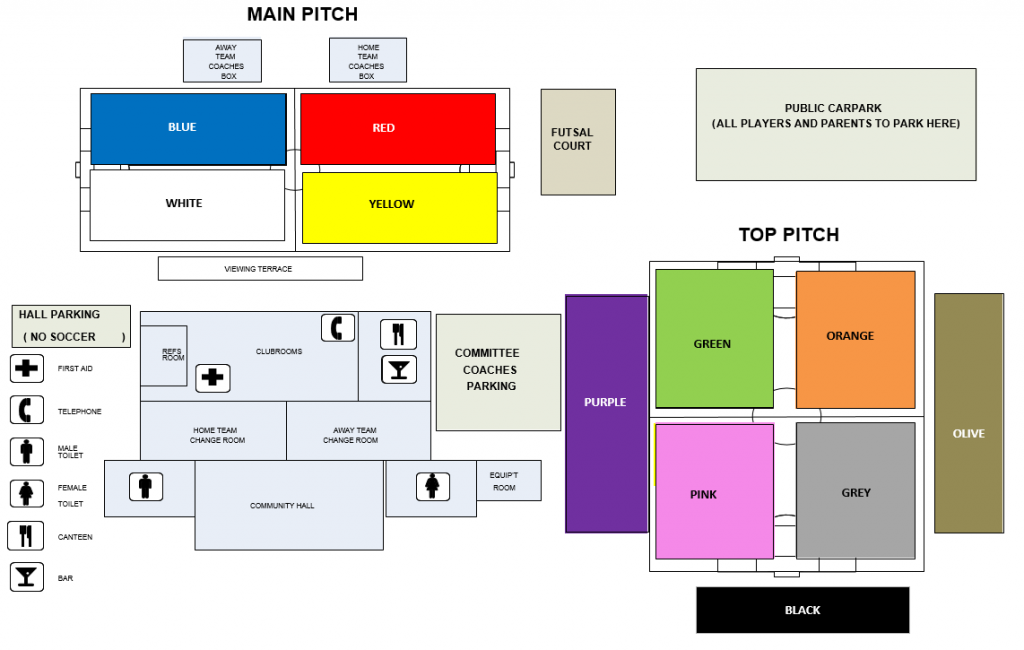 main pitch